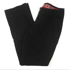 36/34 Under Armour Performance Chino Pants Black